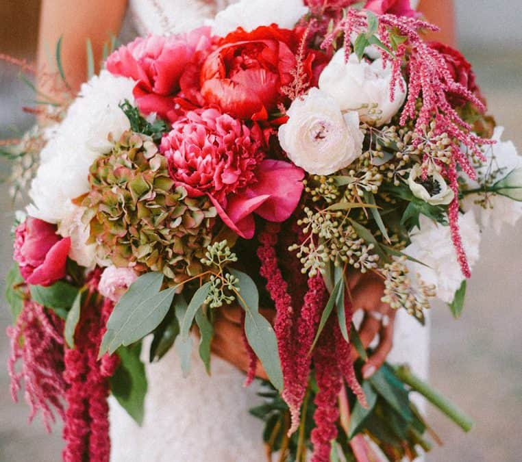 Save, Don't Splurge: Peony, Hydrangea, Amaranthus Bouquet