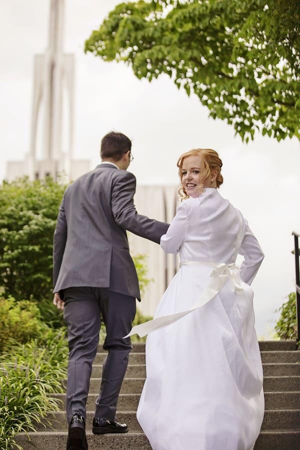 Vintage, Vintage Wedding, Rustic Wedding, Borrowed and Blue, Outdoor Wedding, Seattle Wedding, PNW Wedding, DIY Wedding, DIY Flowers, Bride, Groom