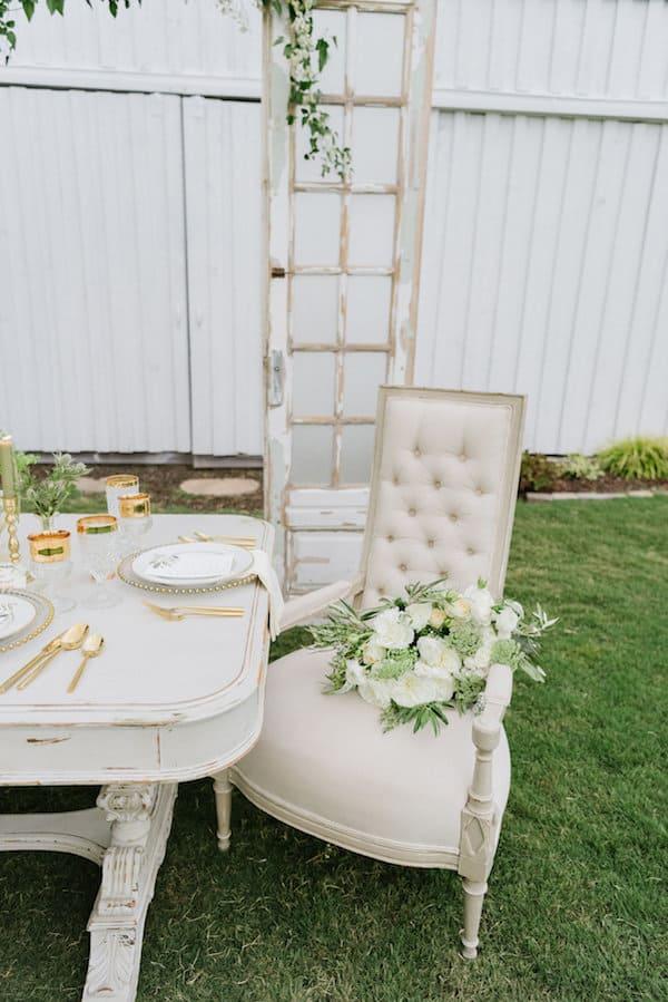 Wedding Inspiration, outdoor wedding, green wedding, white wedding, gold wedding, DIY Wedding, southern wedding