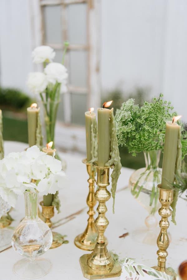 Wedding Inspiration, outdoor wedding, green wedding, white wedding, gold wedding, DIY Wedding, southern wedding, table setting