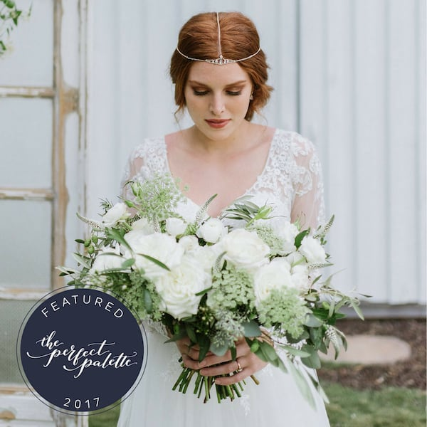 Green and Gold Wedding Dreams with The Perfect Palette