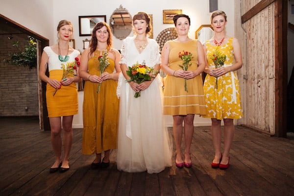 Adrienne & Tynan's Colorful Seattle Wedding