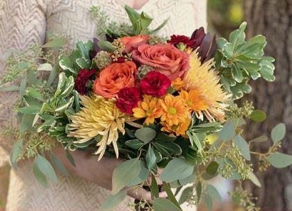 DIY Rustic Harvest Bouquet