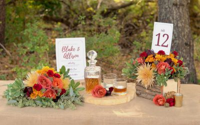 Fall Wedding Inspiration featured on Budget Savvy Bride