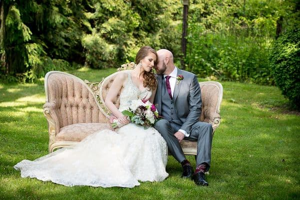 Sarah and Darren's Rustic Glam Wedding