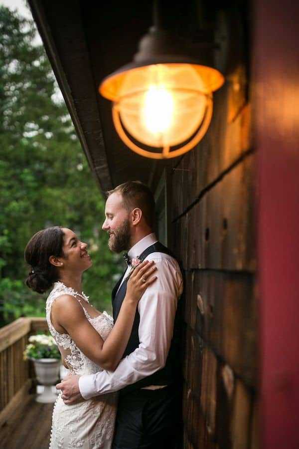 The Knot Features New Jersey Rustic Barn Wedding