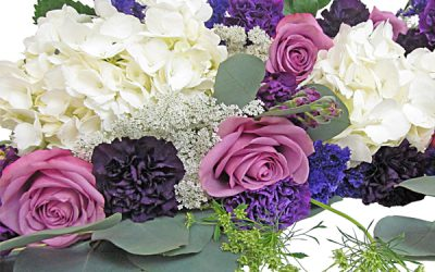 Wedding Flower Pack Reveal: Pantone 2018 Ultra Violet