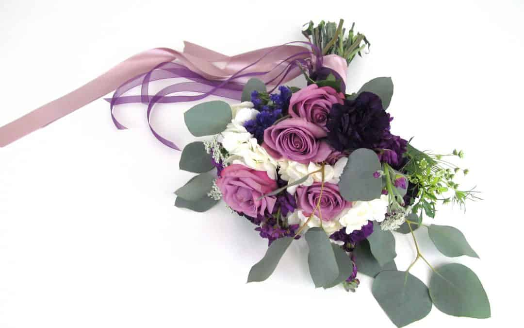DIY UltraViolet Bouquet