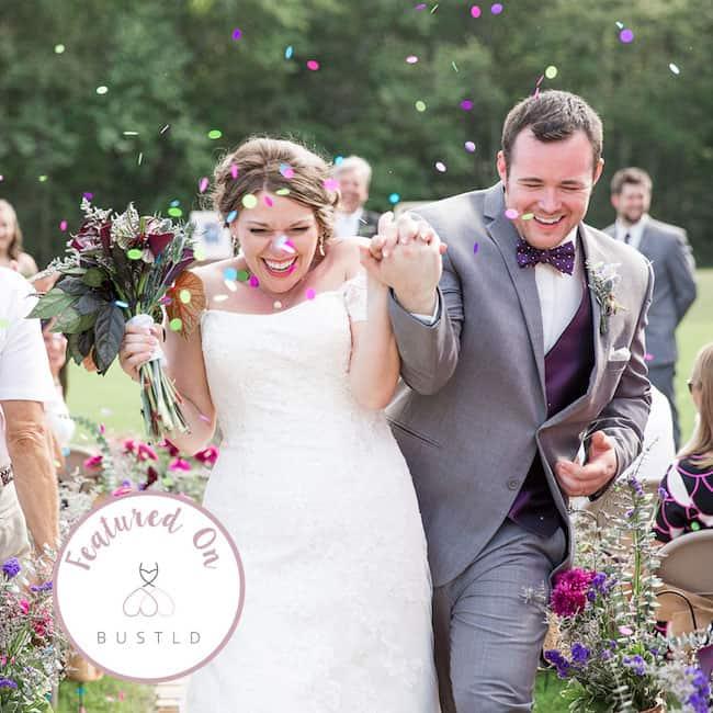 Rustic Barn Chic Wedding Featured on Bustld