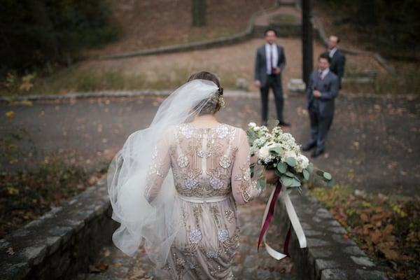 art deco wedding, blooms by the box, diy wedding, burgundy wedding