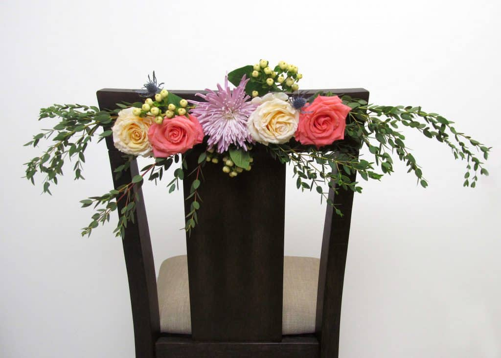 Diy Rose Chair Back Blooms By The Box