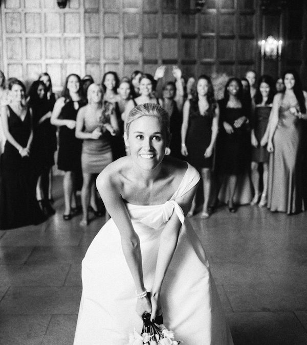 History Behind the Bouquet Toss