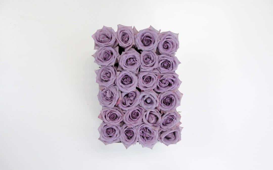 DIY Lavender Rose Box