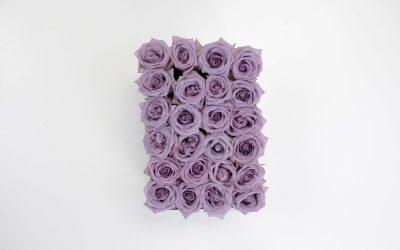 DIY Lavender Rose Box