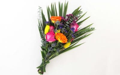 DIY Rainforest Bouquet