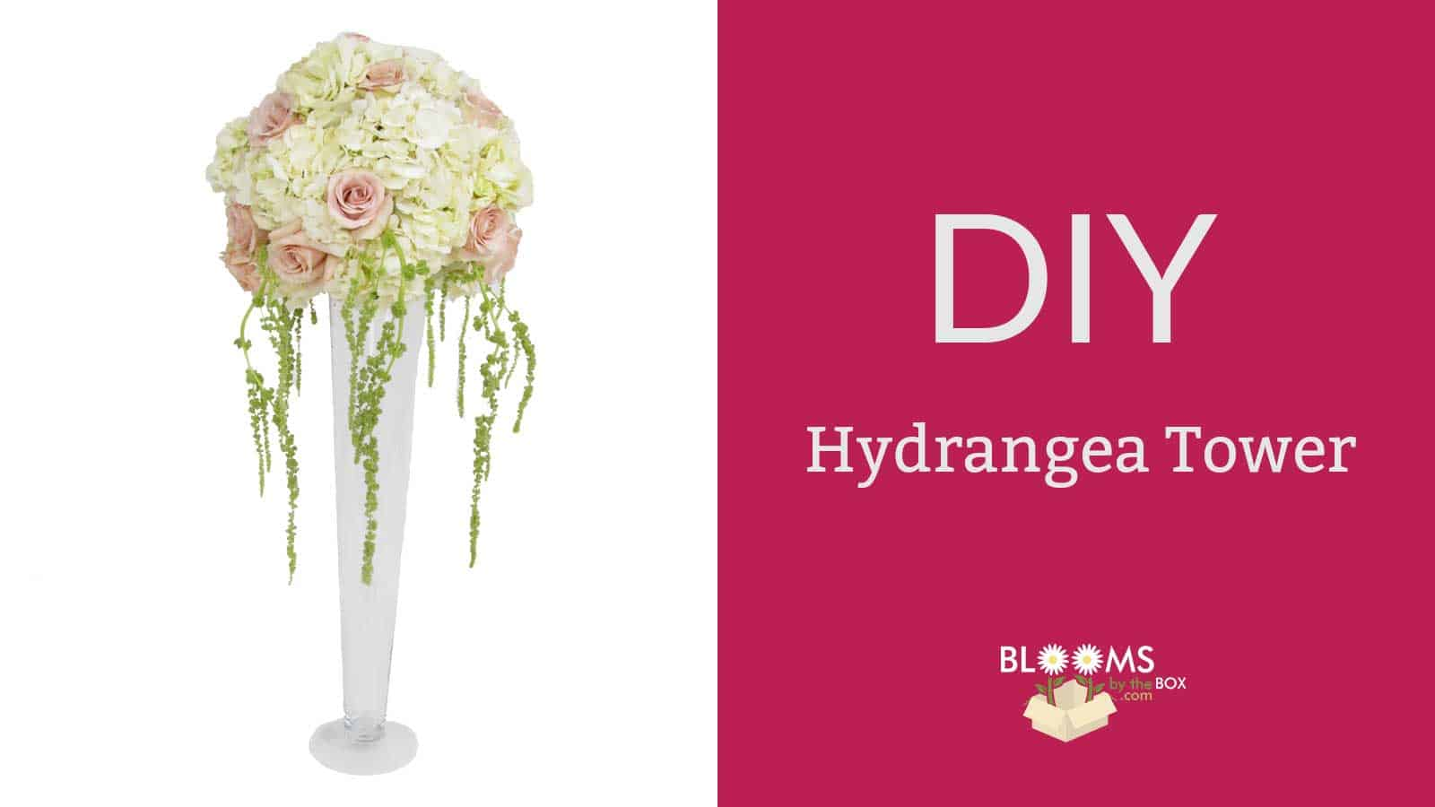 Diy hydrangea tower centerpiece budget friendly beauty