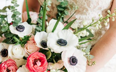 Save, Don't Splurge! Anemone, Ranunculus Bouquet