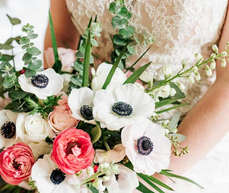 Save, Don't Splurge! Anemone, Ranunculus Bouquet