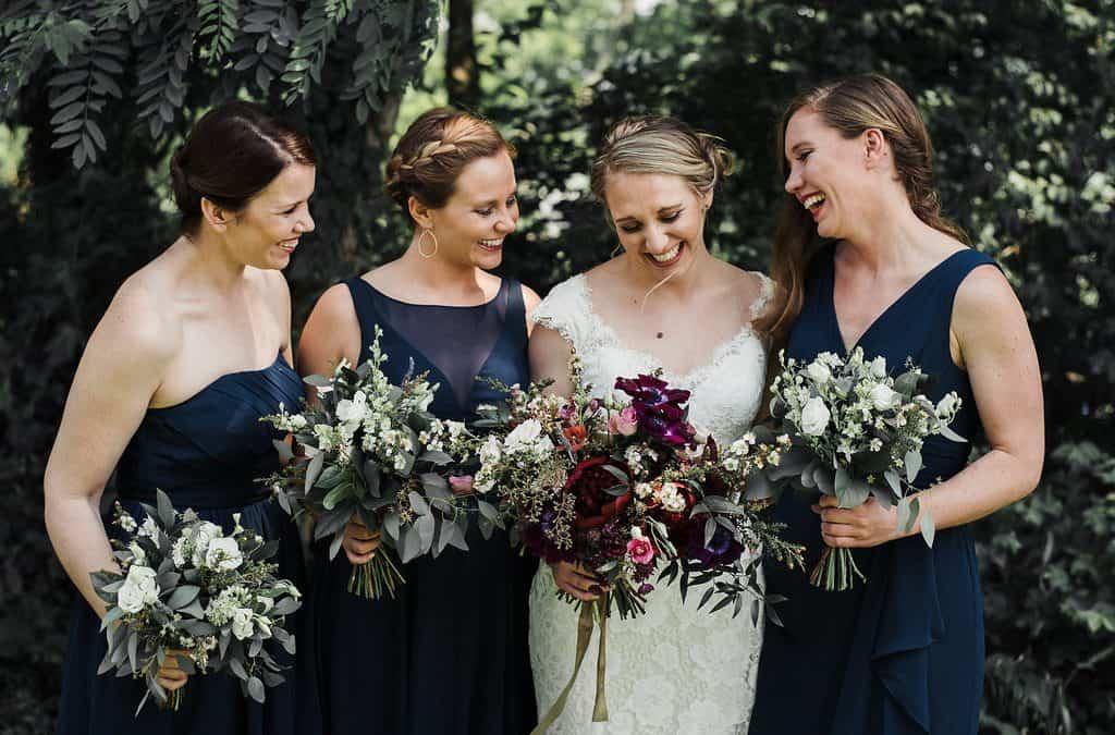 Moody Cincinnati Wedding Featured on Grey Likes Weddings
