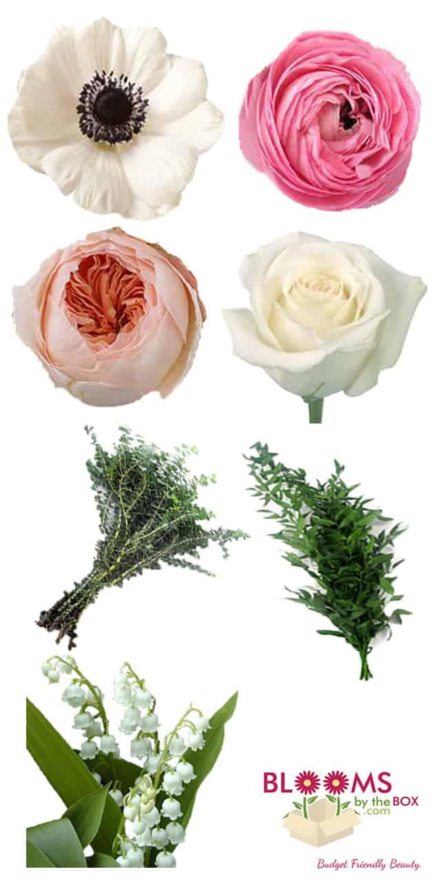 Save Dont Splurge Anemone Ranunculus Rose Bouquet