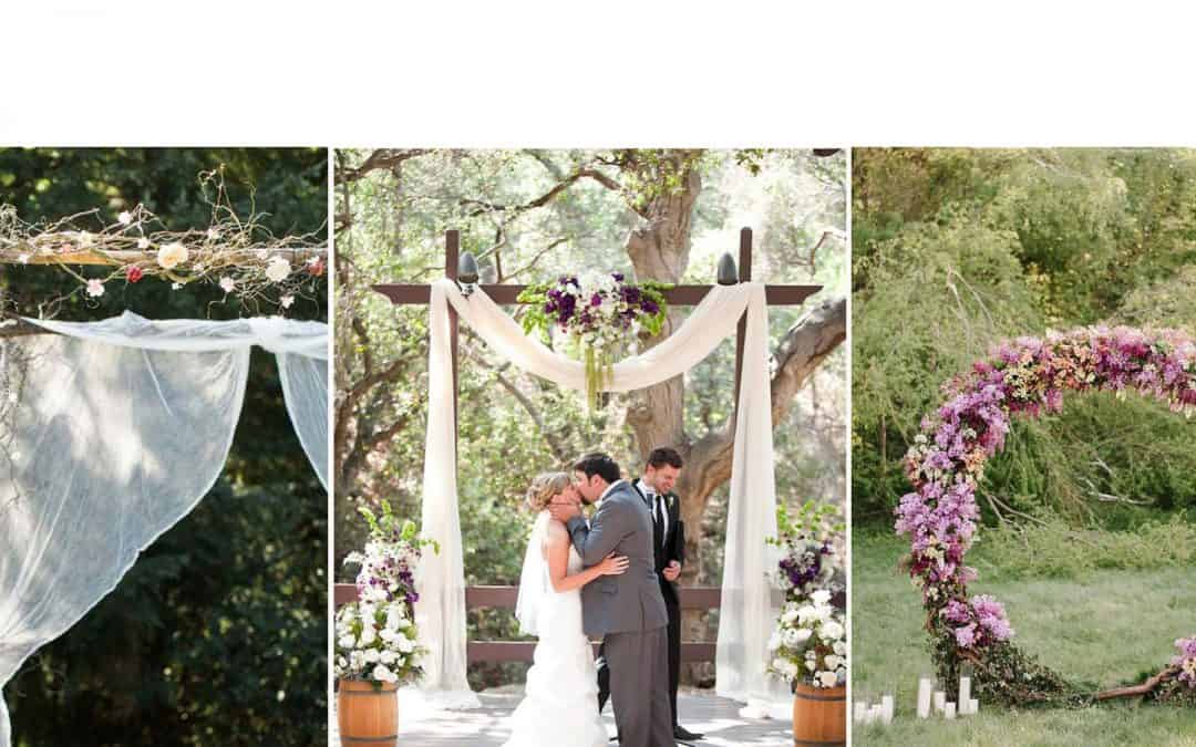 The Best Wedding Arches of 2018