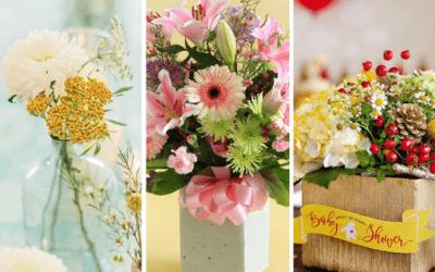 Baby Shower Flower Budget Savers