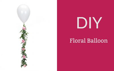 DIY Floral Balloon