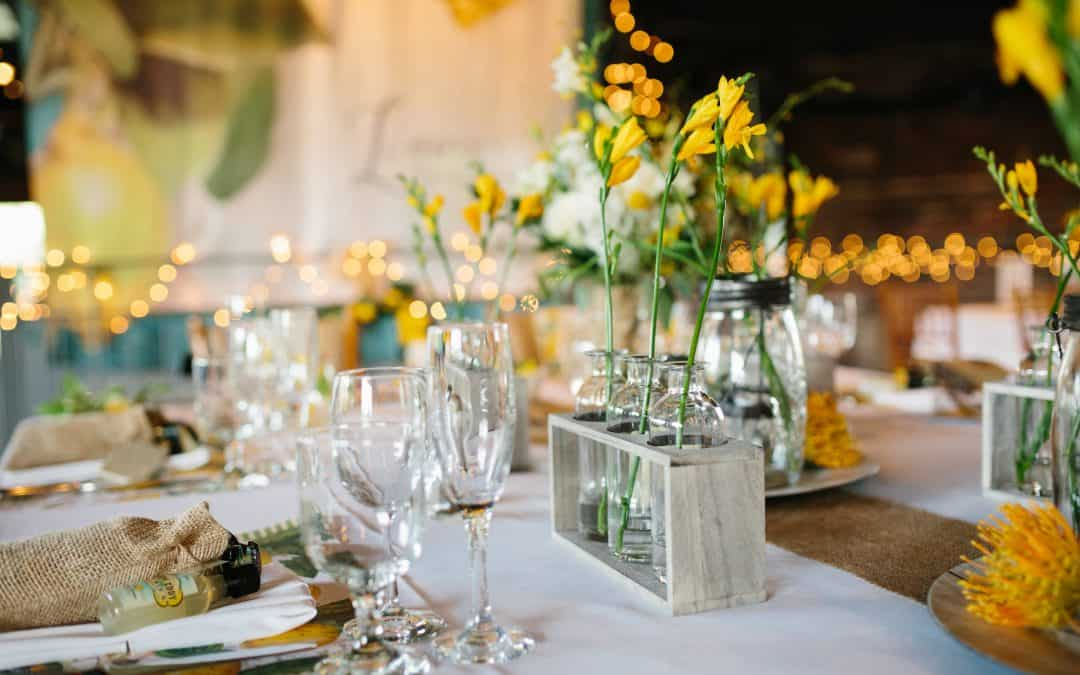 Ohio Warehouse Wedding with Pops of Yellow