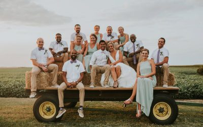 Boho Chic Illinois Farm Wedding featured on The Budget Savvy Bride
