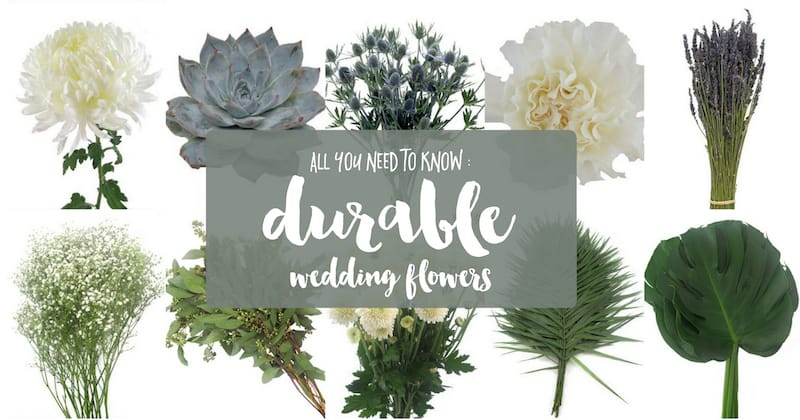 The 15 Most Durable Wedding Flowers featured on Confetti Daydreams
