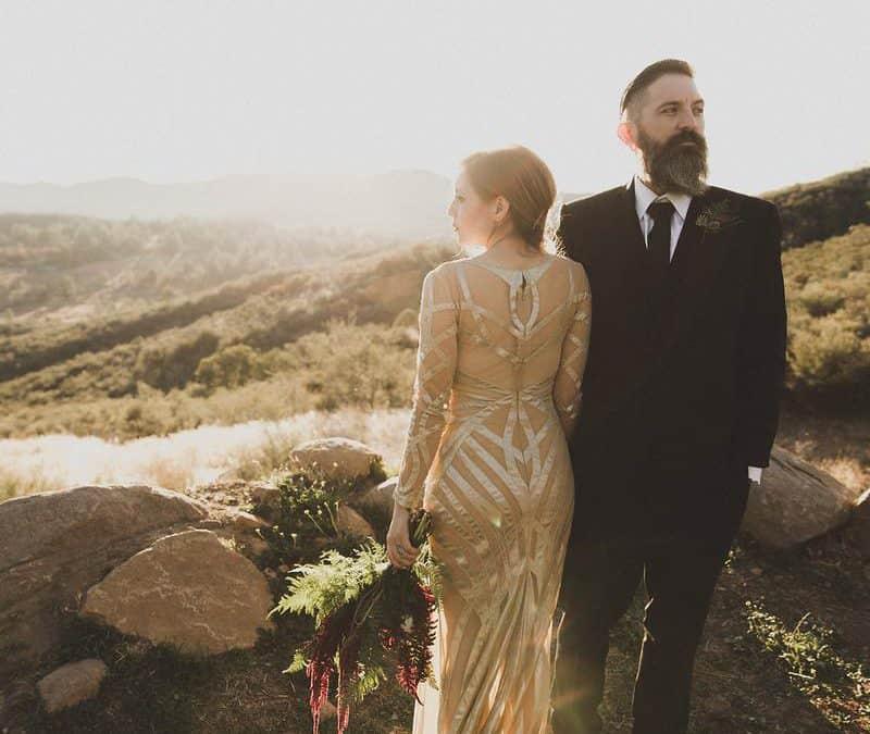 Star Wars Inspired California Sunset Wedding