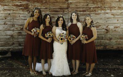 North Carolina Vineyard Wedding With Rustic Accents