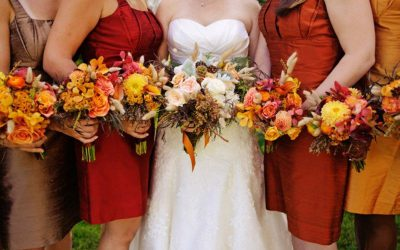 7 Ways To Have An Autumn Pumpkin Spice Wedding