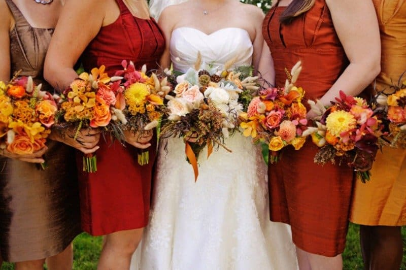 7 Ways To Have An Autumn Pumpkin Spice Wedding