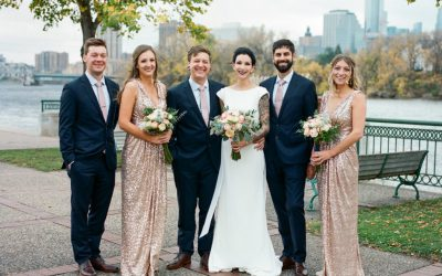 Vintage-Inspired Wedding Featured on Party Slate