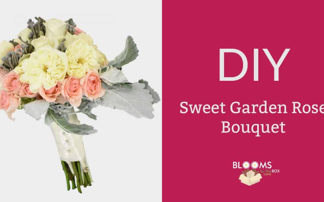 Sweet Garden Rose Bouquet
