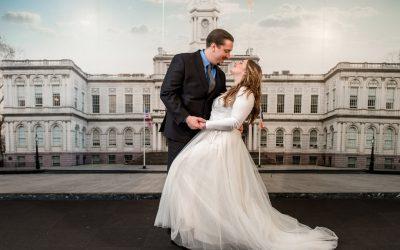 Modern-Industrial Wedding Featured on Zola
