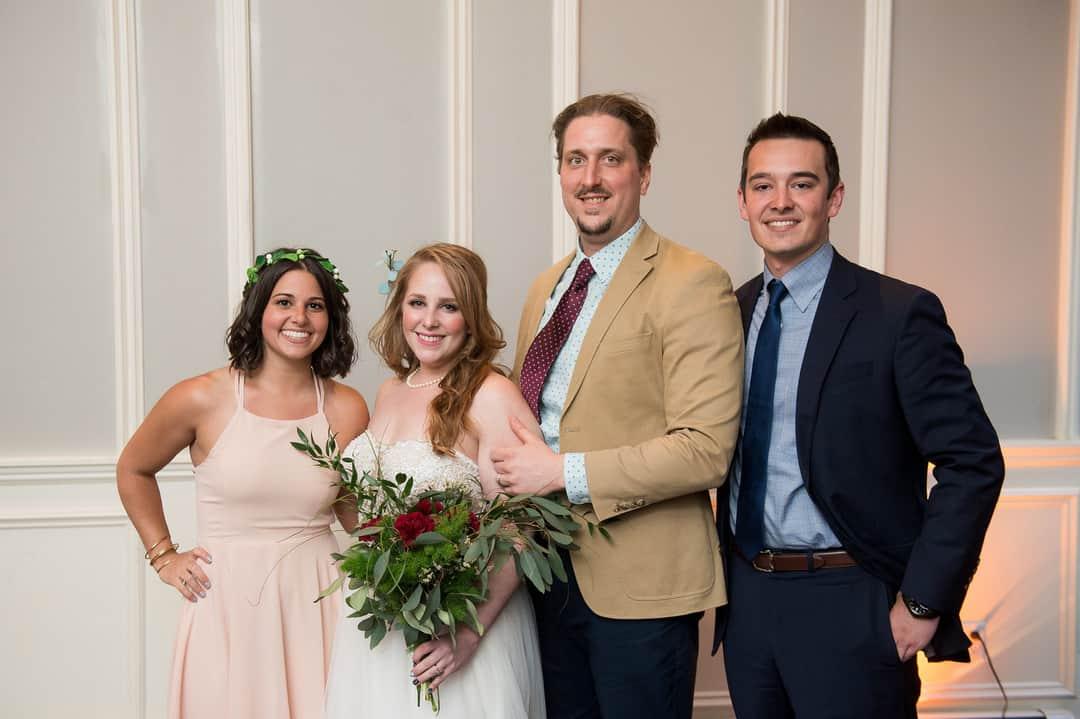 modern-industrial inspired wedding