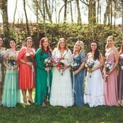 wildflower whiskey inspired wedding