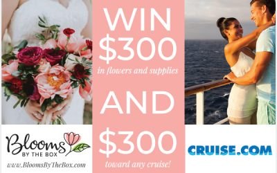 Win $300 in Flowers AND $300 Toward a Honeymoon Cruise!