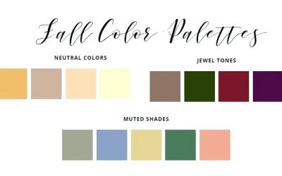 Fall Wedding Color Palette