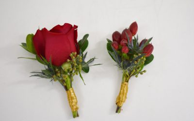DIY Grooms and Groomsmen Boutonniere