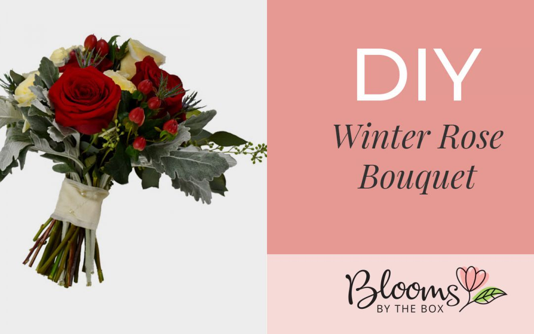 DIY Winter Rose Bouquet