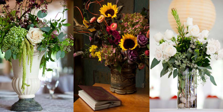 how to add texture in diy flower arrangements