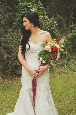 DIY Rustic Glam Wedding Flowers