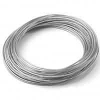 Silver Aluminum Wire 12 Gauge 39ft Roll