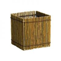 Natural Willow Square Vase 5