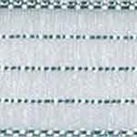 5/8 inch Harmony- #3 White/silver Striped 50 yards