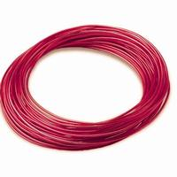 Red Aluminum Wire- 12 Gauge 39ft Roll