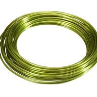 Apple Green Aluminum Wire- 12 Gauge 39ft Roll
